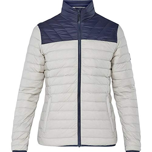 McKINLEY Herren Daunenjacke Ariki, Grey Light/Navy Dark,S