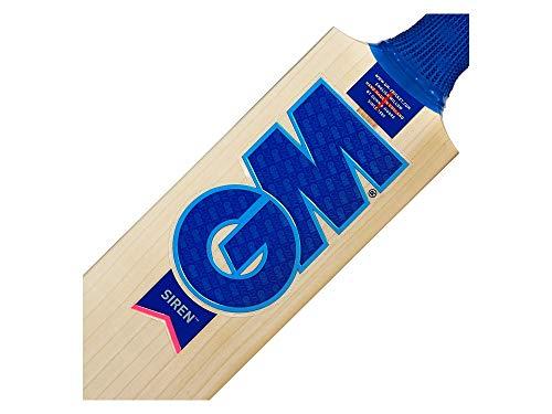 Gunn & Moore G&M Cricket BAT Siren 808 L540 Kricket-Schläger, Holz, Short Handle(Size 6)