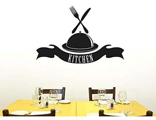 zhuziji Wimpern schwarz Wandaufkleber Energie Energy anpassbare Name Geschirr Essen Restaurant Nordic Schlafzimmer, Campus, Kindergarten mit Vinyl Pvc114x74cm