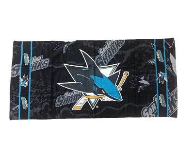 McArthur San Jose Sharks Beach Towel: 30x60 Fiber Reactive