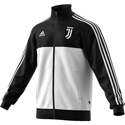 adidas Herren Juve 3s Trk Top Jacket, schwarz/weiß, M