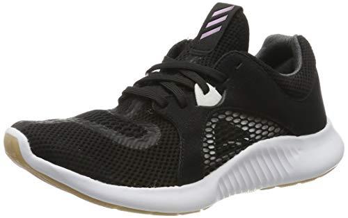 adidas Edgebounce Clima W, Zapatillas de Running Mujer, Negro (Core Black/Tech Silver Met./FTWR White Core Black/Tech Silver Met./FTWR White), 36 EU