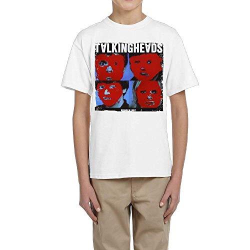 RCY-T カスタム設計 Talking Heads Remain in Light コットン White Tシャツ メンズ