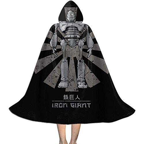 Niet van toepassing Capuchon Cape, Unisex Cosplay Rol Kostuums, Volwassen Robe Mantel, Iron Giant Retro Japanse Vampier Mantel, Halloween Party Decoratie Bovenkleding, Witch Wizard Mantel
