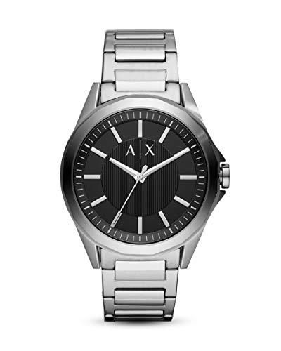 Armani Exchange Reloj Analógico para Hombre de Cuarzo con Correa en Acero Inoxidable AX2618