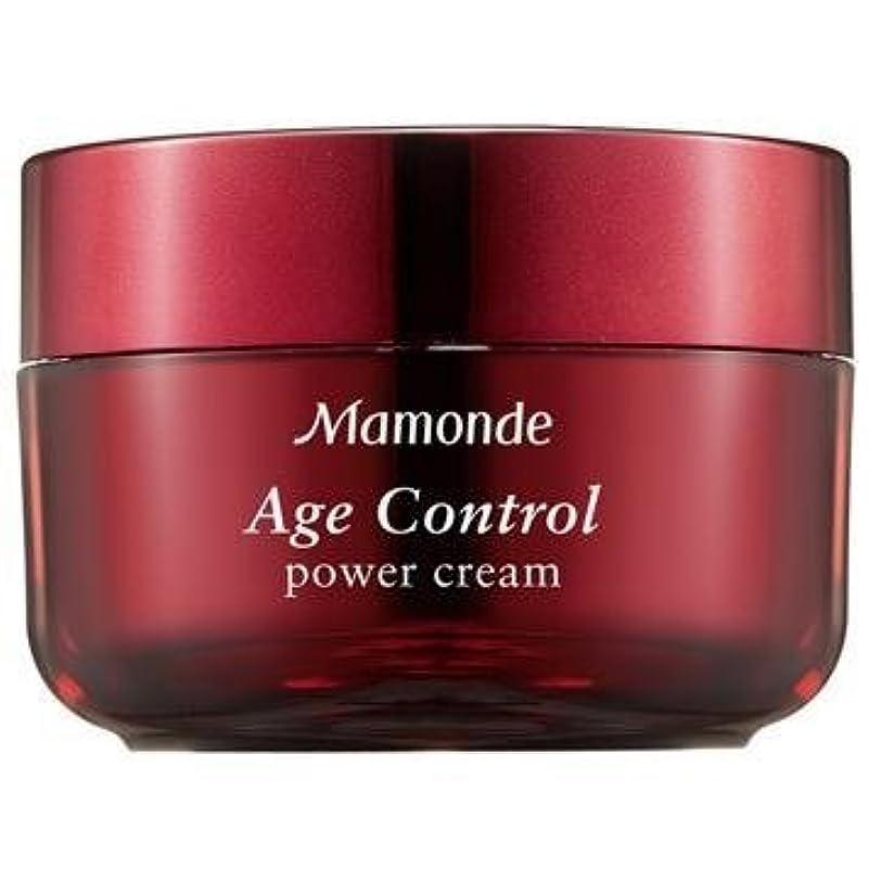 割れ目暴露する彼女のMamonde Age Control Power Cream/ Made in Korea