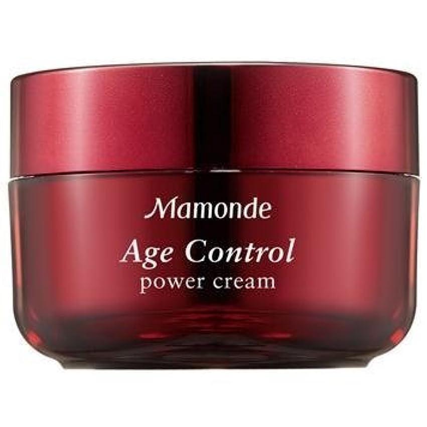 詐欺師呼吸する感情Mamonde Age Control Power Cream/ Made in Korea