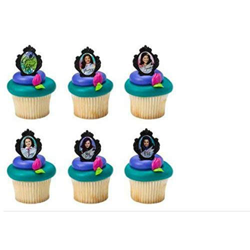 Top descendants rings for cupcakes for 2020