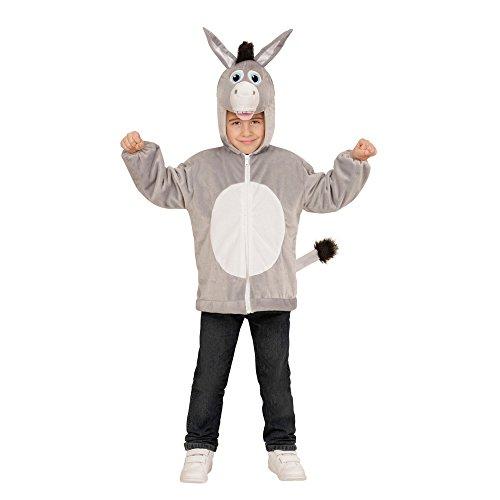 WIDMANN 97452?Disfraz para niños Burro de Peluche, Chaqueta con Capucha y máscara
