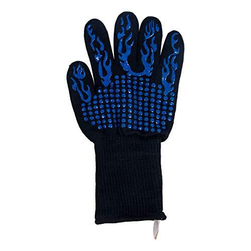 Backhandschuh Schutzhandschuh Gr S//M Blau Aramid//Baumwolle bis 260° Grill
