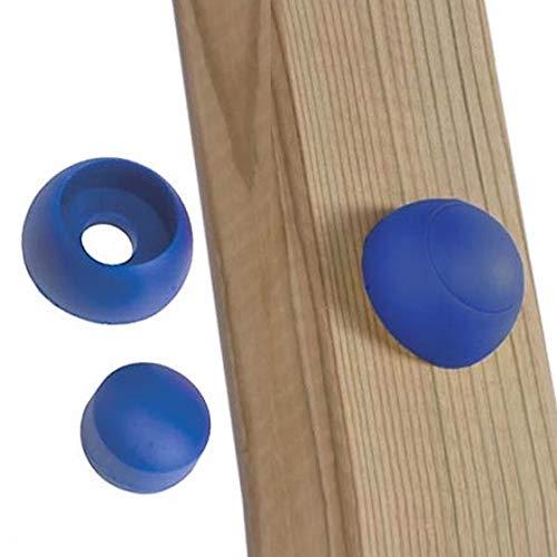 GK Schrauben-/Bolzenabdeckung blau, für Spielturm/Schaukel, Paket: 20 Stück