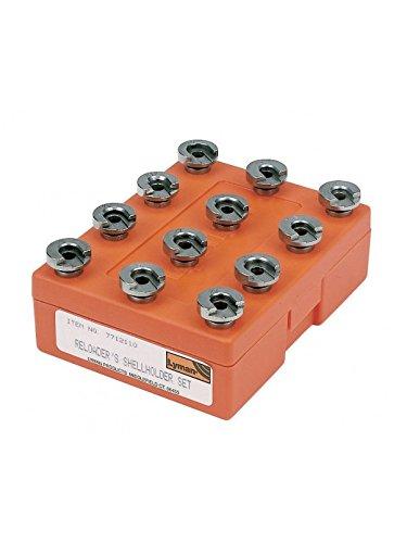 Lyman 0810503 LYM Shellholder Set (12) Orange, One Size (Shell Holder Set)