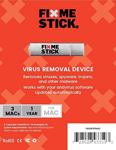 FixMeStick® - Dispositif de désinfection contre les virus - Usage illimité sur 3 Macs pour 1 an