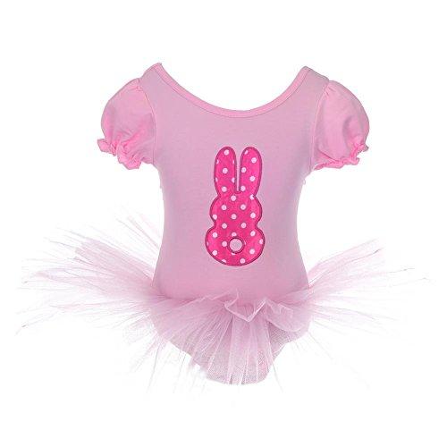 Lito Angels Meisjes Konijn Fancy Jurk Ballet Tutu Danskleding Dans Kostuum + Hoofdband