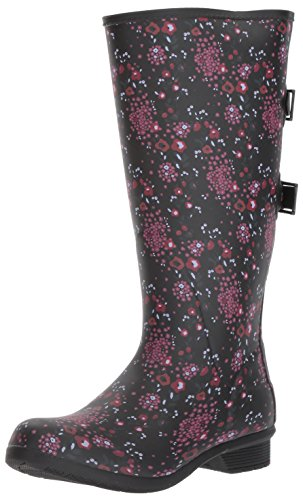 Chooka Women's Fleece Rain Boot Liner, Multi, 8 M US