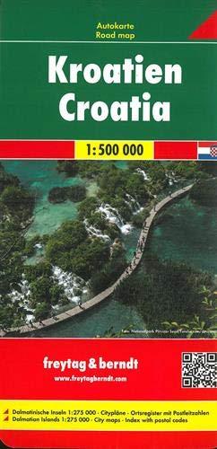 Kroatien, Autokarte 1:500.000 (freytag & berndt Auto + Freizeitkarten)