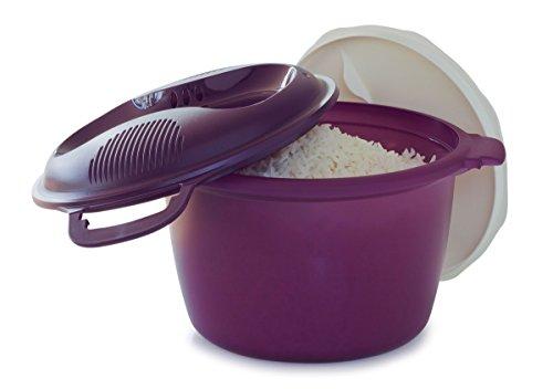 Tupperware Mikrowellen-Reiskocher, groß, 3 l oder 12 Tassen