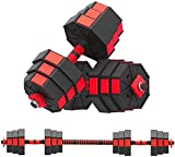 perfectbot 44LBS Adjustable Dumbbell Weights Dumbbells Set Home Weight Set Dumbbell Combination...
