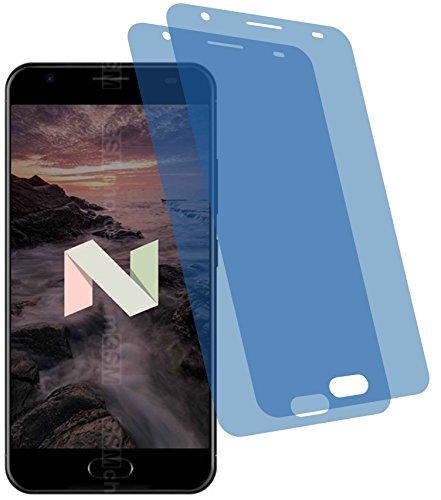 4ProTec I 2X Crystal Clear klar Schutzfolie für Ulefone Power 2 Premium Bildschirmschutzfolie Displayschutzfolie Schutzhülle Bildschirmschutz Bildschirmfolie Folie