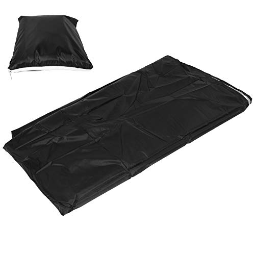 Hanging Chair Cover, Swing Chair Protector, Outdoor Waterproof 210D Oxford Cloth Patio Egg Chair Covers with Drawstring for Garden Courtyard Black 230X200cm