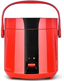 SHAAO Cuiseur à Riz Multifonctionnel Mini Isolation électrique Pot de Riz Cuisine Chauffage Rapide Cuisson Pot 1.2L (Color...