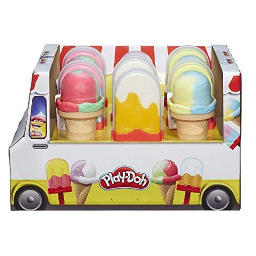 Hasbro-E5332EU40 Play Doh Moldea tu helado 10cm, Multicolor (E5332EU40) , color/modelo surtido