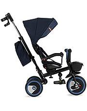 MOMI INVIDIA rower trójkołowy dla dzieci, Pink Flowers