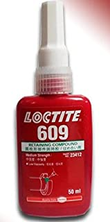 Loctite 609 50ml Retaining Compound Medium Strength Glue