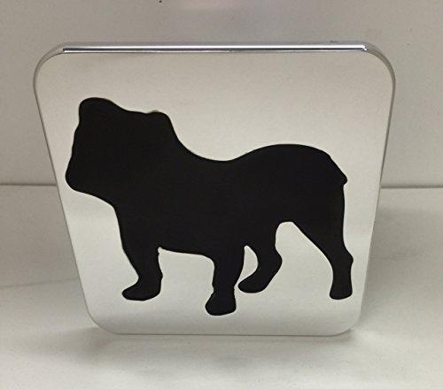CERVANTMACHINE Bulldog Hitch Cover Black