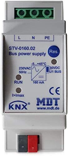 MDT® KNX/EIB Spannungsversorgung / 2TE / 160MA / 230V (AC) > STV-0160.02