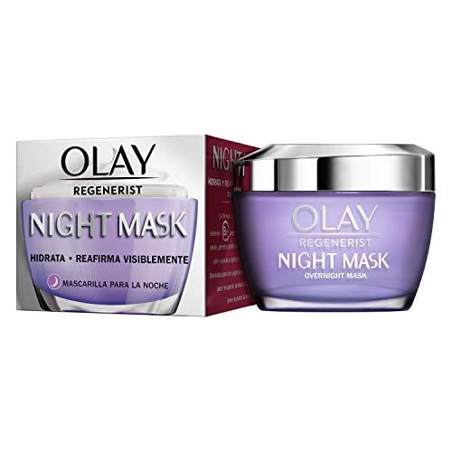 Olay Regenerist Mascarilla Facial De Noche, Fórmula Con Vitamina B3 Y Niacinamida, 24 H De Hidratación, 50 ml
