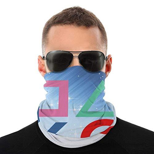 BIT Playstation Joypad Hals Leggings Warme Maske Schal Winddicht Atmungsaktiv Angeln Wandern Laufen Radfahren Ski Snowboarden