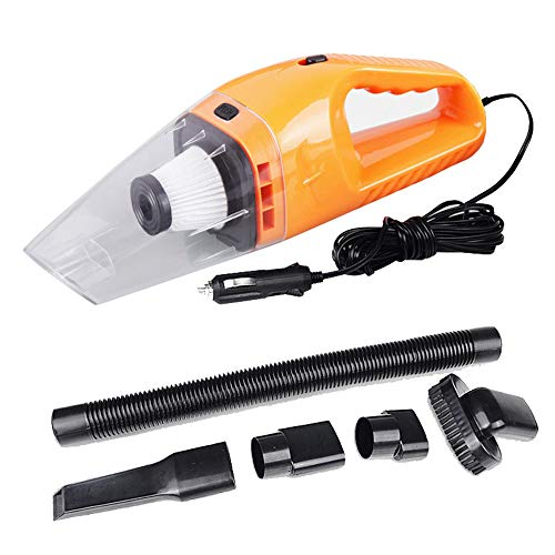 BAITENG Aspirapolvere Portatile 12V Car Vacuum Cleaner High Suction for Car Wet And Dry Dual-Use Auto Vacuum Cleaner Portable Mini Vacuum Cleaner,Or