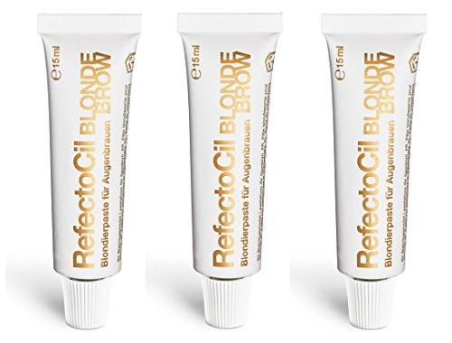 3er Blondierpaste für Augenbrauen Blonde Brow RefectoCil 15 ml