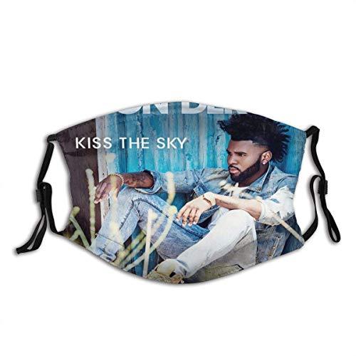 Sturmhaube, Gesichtsschutz, Mundschutz, Masken, Halstuch, staubdichter Schal, Outdoor-Bandanas Jason Derulo Kiss The Sky