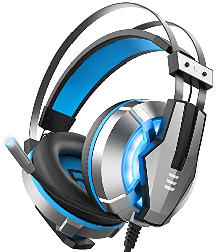 EKSA Stereo Gaming Headset for PS4, PC, Xbox One Controller,...