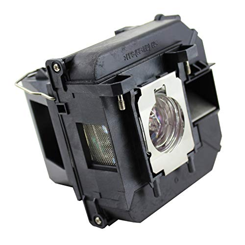 QueenYii ELPLP68 Replacement Lamp with Housing for EPSON EH-TW5900 EH-TW5910 EH-TW6000 EH-TW6000W EH-TW6100 H421A H450A PowerLite HC 3010 3010e 3020 3020e Lamp