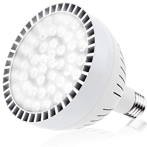 E-cowlboy LED Swimming Pool Bulb White Light (120V 100W),...