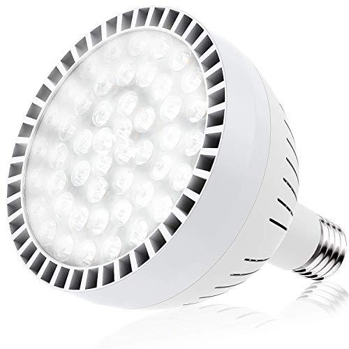 E-cowlboy LED Swimming Pool Bulb White Light (120V 100W),...