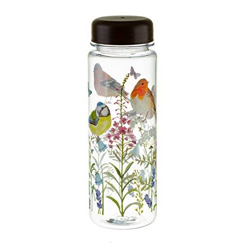 Jardín de pájaros y flores botella de agua escuela gimnasio Picnic sin BPA