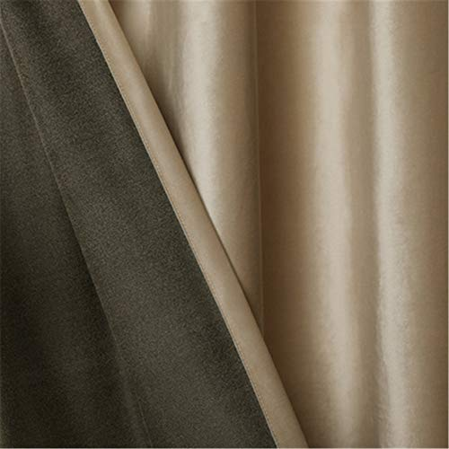 European-Style Modern Minimalist Curtains, Polyester Quick-Drying Bedroom And Living Room Blackout Curtains, Furniture Supplies, Wall Decoration (2 Pieces)