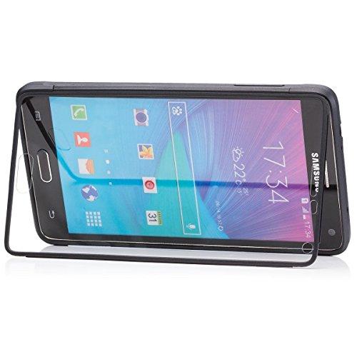 Samsung Galaxy Note 4   iCues táctil TPU Negro  