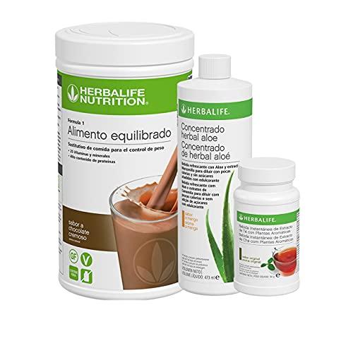 Batidos herbalife pack ofertas incluye té adelgazante quemagrasa,aloe vera, y batido formula...