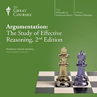 Argumentation: The Study of Effective Reasoning, 2nd Edition audiobook cover art
