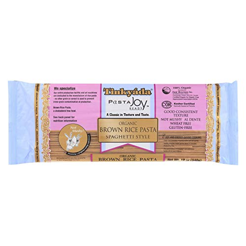 Tinkyada Organic Spaghetti Brown Rice Pasta, 12 Ounce - 12 per case.