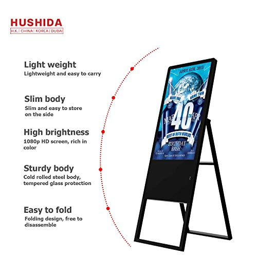 Why Should You Buy 32 inch Portable LCD Digital Signage Ultra Thin Vertical Floor Standing Signage A...