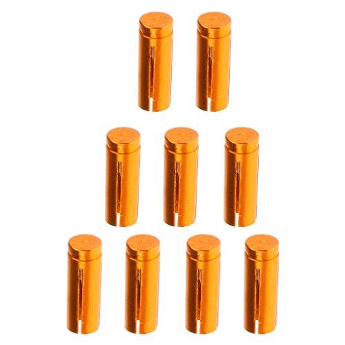 Sharplace Dart Flight Protektors, 9er / Set - Gold