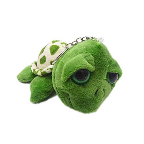 Casecover Glückliche Schildkröten Plüsch Glücksbringer Schildkröte Stofftier Schlüsselanhänger Geburtstags-Geschenk