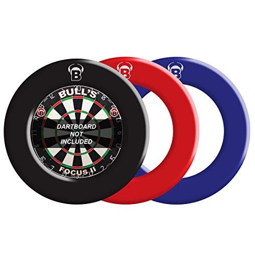 BULL'S Professional Dartboard Surround / Catchring / Auffangring / Wandschutz, blau