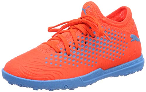 Puma Future 19.4 TT Jr, Zapatillas de Fútbol Unisex Adulto, Rojo (Red Blast-Bleu Azur), 37 EU